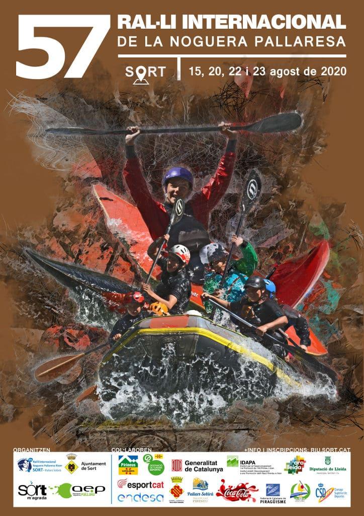 Cartell del 57è Ral·li Internacional de la Noguera Pallaresa