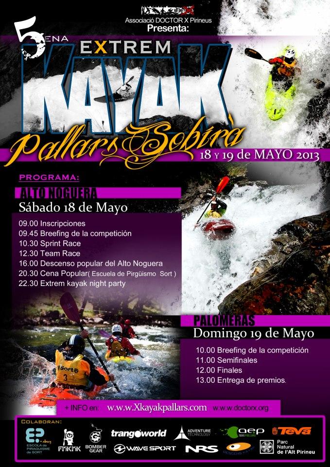 5a Kayak Extrem Pallars Sobirà