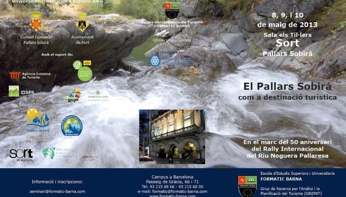 III Seminari El Pallars Sobirà com a destinació turística
